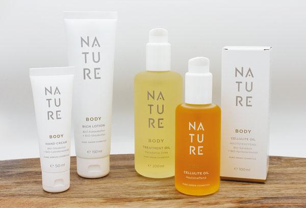 NATURE SPA Kosmetikstudio Sortiment